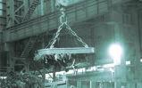 Поднимаясь электромагнит для брошенного слитка MW5