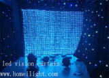 2 * 3 * 4 6 LED DJ Decoración Visión Cortina con Star Flexible