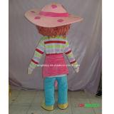Factroyの販売のマンガのキャラクタのマスコットの衣裳のいちごのShortcakeの女の子