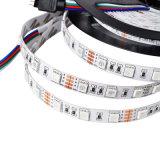 Blank Vorstand 5050 flexibles LED Streifen-Licht RGB-