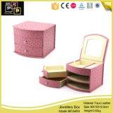 Caixa de jóia clássica roxa bonita (8134)
