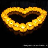 Plastik-LED Kerze der neue Auslegung-Minitropfen-Riss-gelben Leuchte-