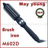 工場供給のヘア・ブラシの鉄デザイン専門の魔法の陶磁器の毛のヘアアイロン