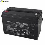 Batterie rechargeable 12V100ah de gel de vente chaude avec la longue vie Cg12-100