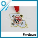 Изготовленный на заказ Metal Medal для Souvenir, Cheap Sports Medal с Ribbon, Design Your Own Medal