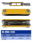Dobradura métrica/Torx do plástico/jogo Foldable da chave da chave Hex