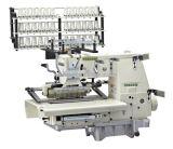 doppia macchina per cucire a base piatta del punto Chain 25-Needle