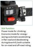 """Mudança automática elétrica da velocidade do freio de disco do """"trotinette"""" (MN3)"""