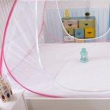 Moustiquaire pliable de tirette de polyester pour la chambre à coucher