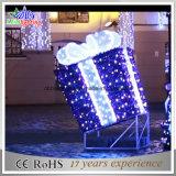 Geschenk-Kasten-Straßen-Motiv-Dekoration-Licht des Weihnachtenled