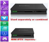 Amazing TV Box Combine Satellite with IPTV Set Top Box