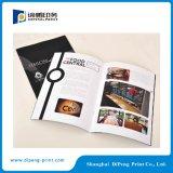 Kunstdruckpapier-Katalog-Drucken mit dem Öl beschichtet