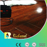 pavimento laminato fonoassorbente della noce dello specchio di 12.3mm E1 HDF