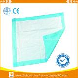 Coussin de lit absorbant élevé d'incontinence Underpad remplaçable