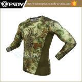 Het nieuwe Hete Ondergoed van Esdy van de Kostuums van het Ondergoed Camo Thermische Mens