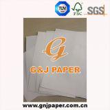 Ein weißes SpitzenTestliner Papier in aller Größe ordnen