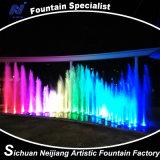 El RGB colorea la luz del agua