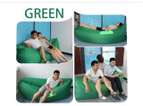 Sofá portátil Laybag inflável da tela de nylon impermeável do logotipo do OEM de muitas cores