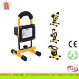 Water Resistant 10W Portable LED Flood Light met Ce & RoHS Certificates