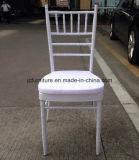 Дешево но сильный стул Chiavari белого металла для венчания