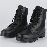 Ботинки ботинок боя кожи черноты хорошего качества воинские (2003)