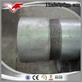 Bonne qualité ASTM A53 Tuyaux en acier galvanisé à chaud et chauds Fils filetés
