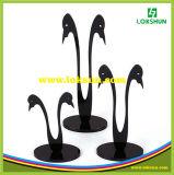 Schwarze freie Acrylohrring-Bildschirmanzeige-Zahnstangen der ohrring-Bildschirmanzeige-Zahnstangen-PMMA