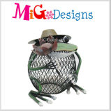 Mini fabricante encantador do profissional do suporte de vela do metal da borboleta