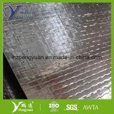 Folha de Alu + tecido + isolação resistente ao calor perfurada da folha de Alu