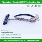 Chicote de fios do fio do motor de Lvds da fábrica do conjunto de cabo do LCD