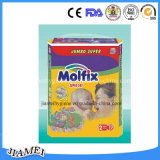 Elastic Waistband를 가진 모든 Sizes Breathable Molfix Baby Diapers