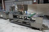 Automatische Plastikgelee-Cup-Kapsel-füllende Dichtungs-Maschine