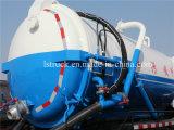 10000L de vacío de aguas residuales de camiones de succión Dongfeng camiones de aguas residuales Venta