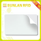 Cr80 Plástico Glossy Blank Smart Chip Card