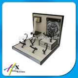 ハイエンド腕時計の表示木の腕時計の立場をカスタム設計しなさい