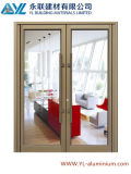 Porte en aluminium de marque de Yl pour la porte de tissu pour rideaux avec le certificat d'OIN