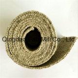 40mm/50mm auswechselbares gewebtes Material des Fischgrätenmuster-100%Linen