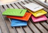 Caricatore sottile 1000mAh della Banca di potere di capacità elevata misura per Samsung LG HTC