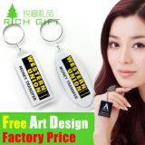 Fabrik-Großverkauf-förderndes kundenspezifisches Metall Keychain