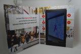 Tarjeta de felicitación video - folleto video - libro del Tarjeta-Vídeo del saludo del LCD