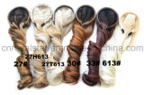 Perruques de cheveu bouclé de la fibre synthétique 1/2 de température élevée avec Hairband