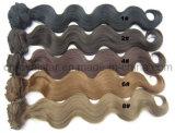 Зажим Hairpieces синтетического тела способа курчавый в выдвижении 12PCS волос