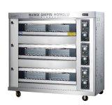Verkauf! ! ! ! Gas-Plattform-Ofen-Brot-Ofen-Pizza-Ofen-Bäckerei-Geräten-Küche-Gerät (RQL-Y-3L)