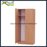 Double Doors Bedroom Wardrobe (com cabide)
