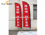 Grossist-im Freienbekanntmachenbewegliche Fliegen-Markierungsfahnen-Fahne/Swooper Markierungsfahne
