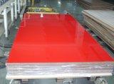 Panneau enduit UV de forces de défense principale couleur de toute neuve de Zh pour la construction (couleur solide)