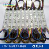 Module imperméable à l'eau de la couleur SMD5050 sept DEL de qualité de Ce/RoHS SMD5050