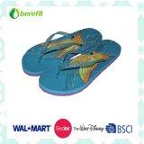 Slippers delle donne, Bright Printing con EVA Sole e PVC Straps