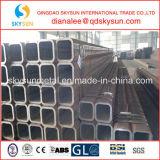 Grand acier de construction de diamètre, pipe en acier carrée