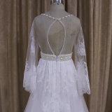 طويلة كم البوهيمي ثوب زفافيّ حامل زفافيّ عرس ثوب